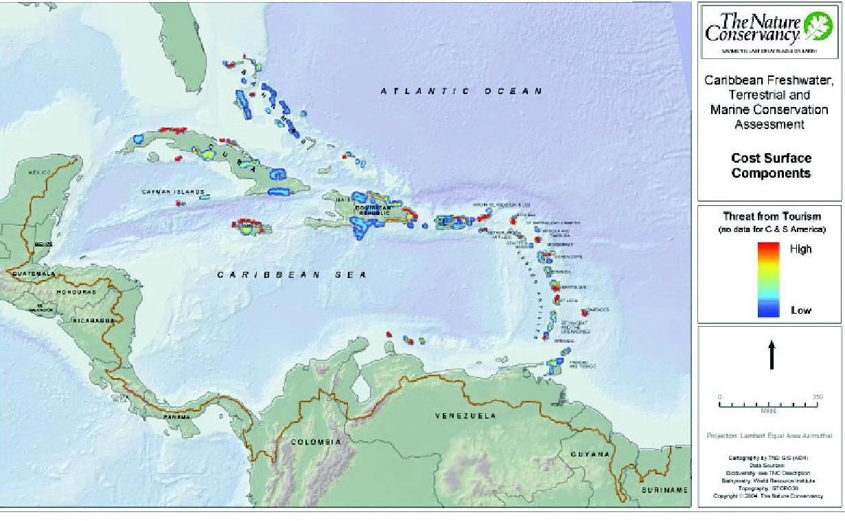 Gu a inmobiliaria mapa conservacion marina y costera for Guia inmobiliaria