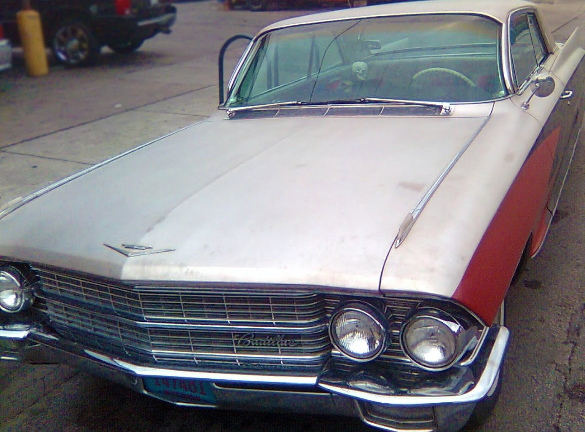 1962 caddy coupe deville | front