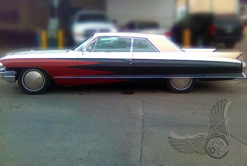 1962 caddy coupe deville | left