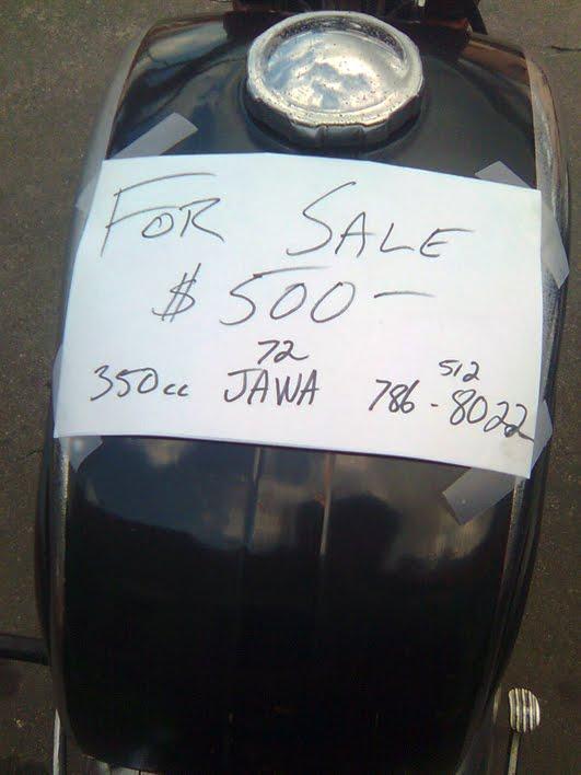 1972 350cc jawa twin