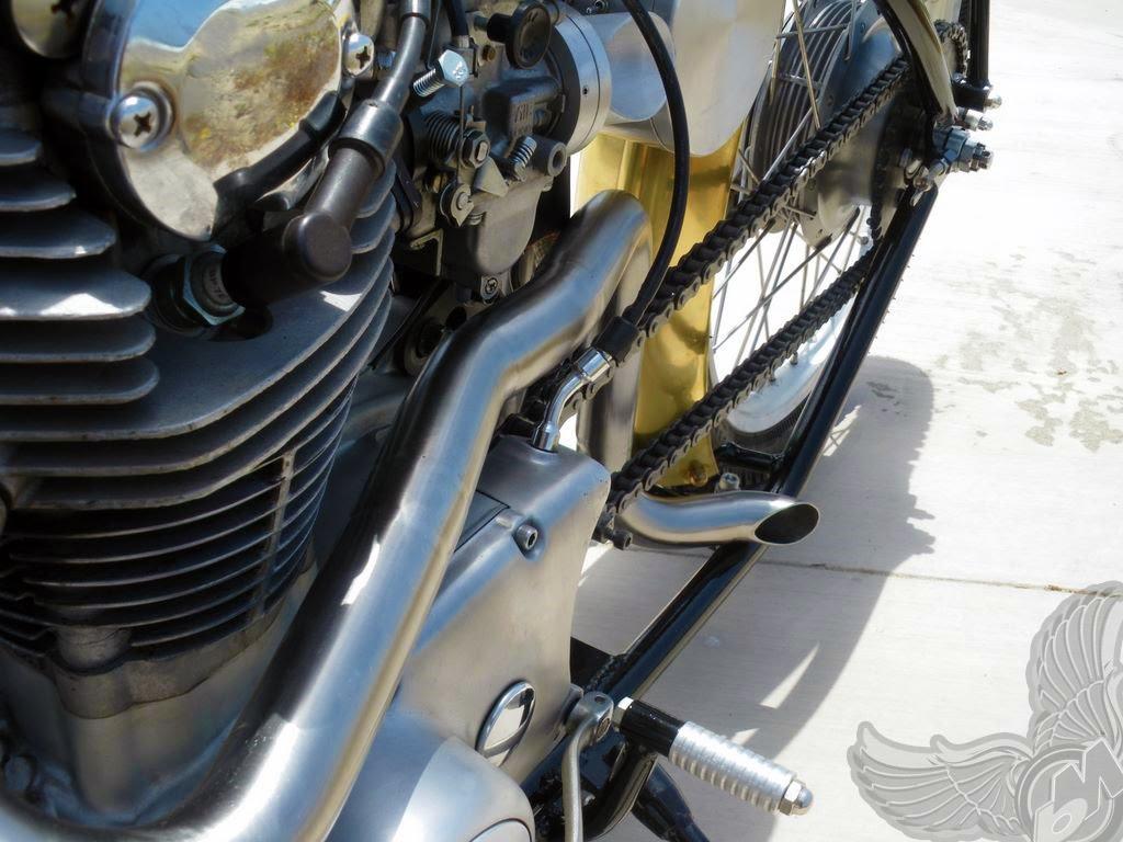 custom xs650 exhaust