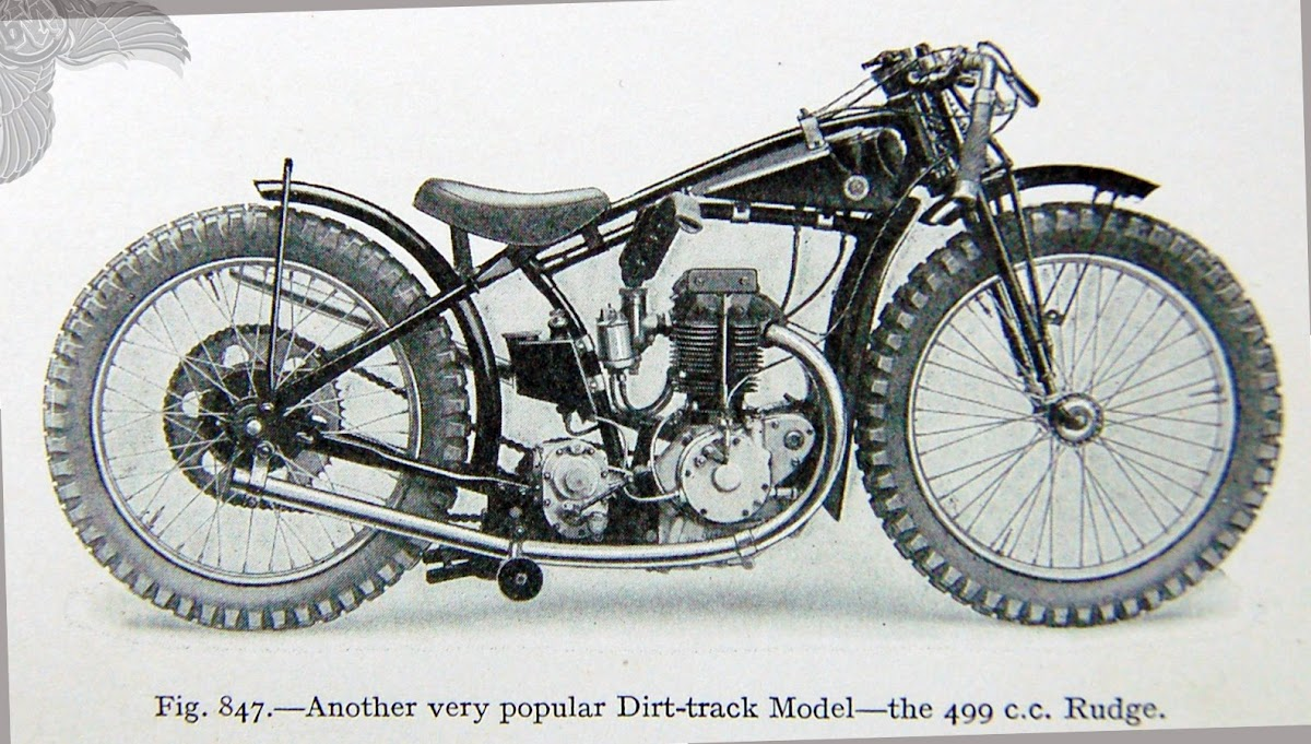 499cc rudge dirt bike