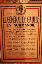 DE GAULLE . Dimanche 10 Juin 1945