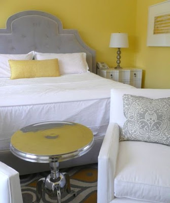 Summer: Yellow Bedrooms