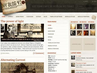my blog v2 free templates joomla