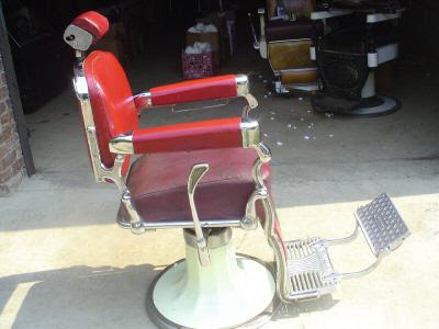 Antique 1800wooden Barber Chair Koch
