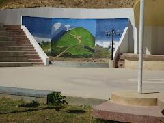 MURAL DE LA PLAZA DE ARMAS DE AZANGARO.
