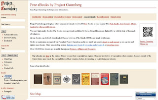 download free ebooks for kindle ipad mobile device project gutenberg