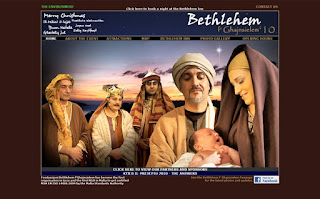 live crib betlehem inn nativity jesus birth christmas