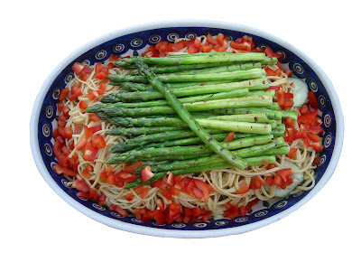 sesame+noodles+01 Sesame Noodles with Grilled Asparagus