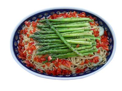 sesame+noodles+01 Sesame Noodles with Grilled Asparagus