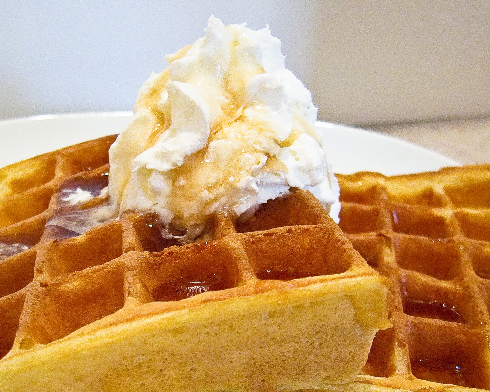 Playing With A New Toy All Clad Waffle Maker Amp Buttermilk