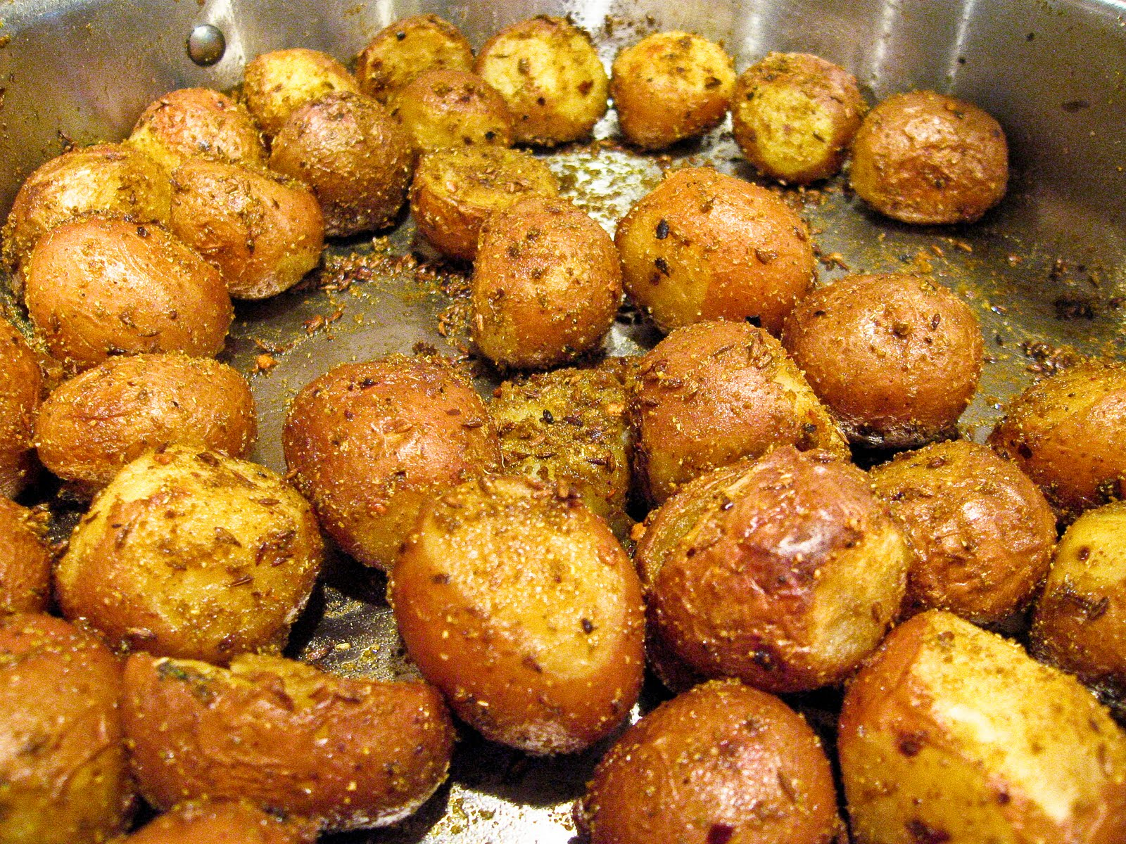 how to make baby red potatoes