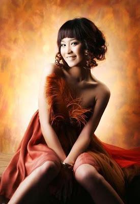 Foto Artis Cantik Bunga Zainal celebrity picture Style