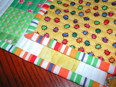 too 2010 Seams: long and Stitches August table runner