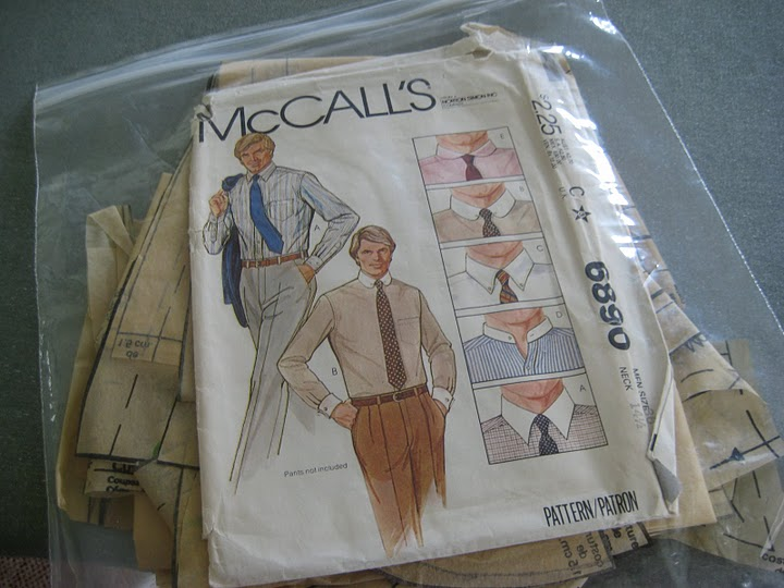 This is Michael wearing McCall's 6890. Great fit.