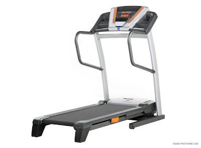 Proform treadmill motorised