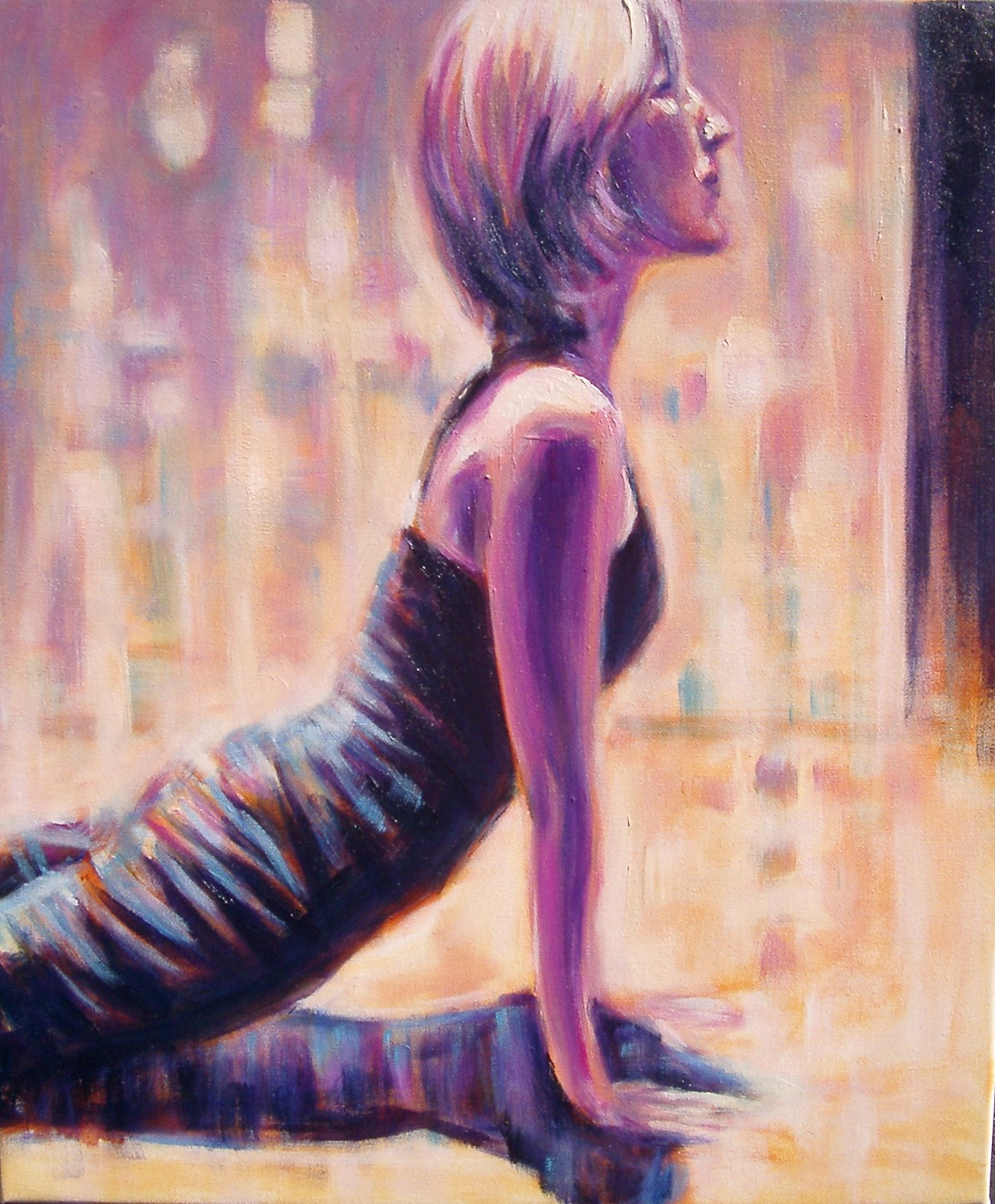 Yoga Pose XV Final Back To The Art Of Painting Without