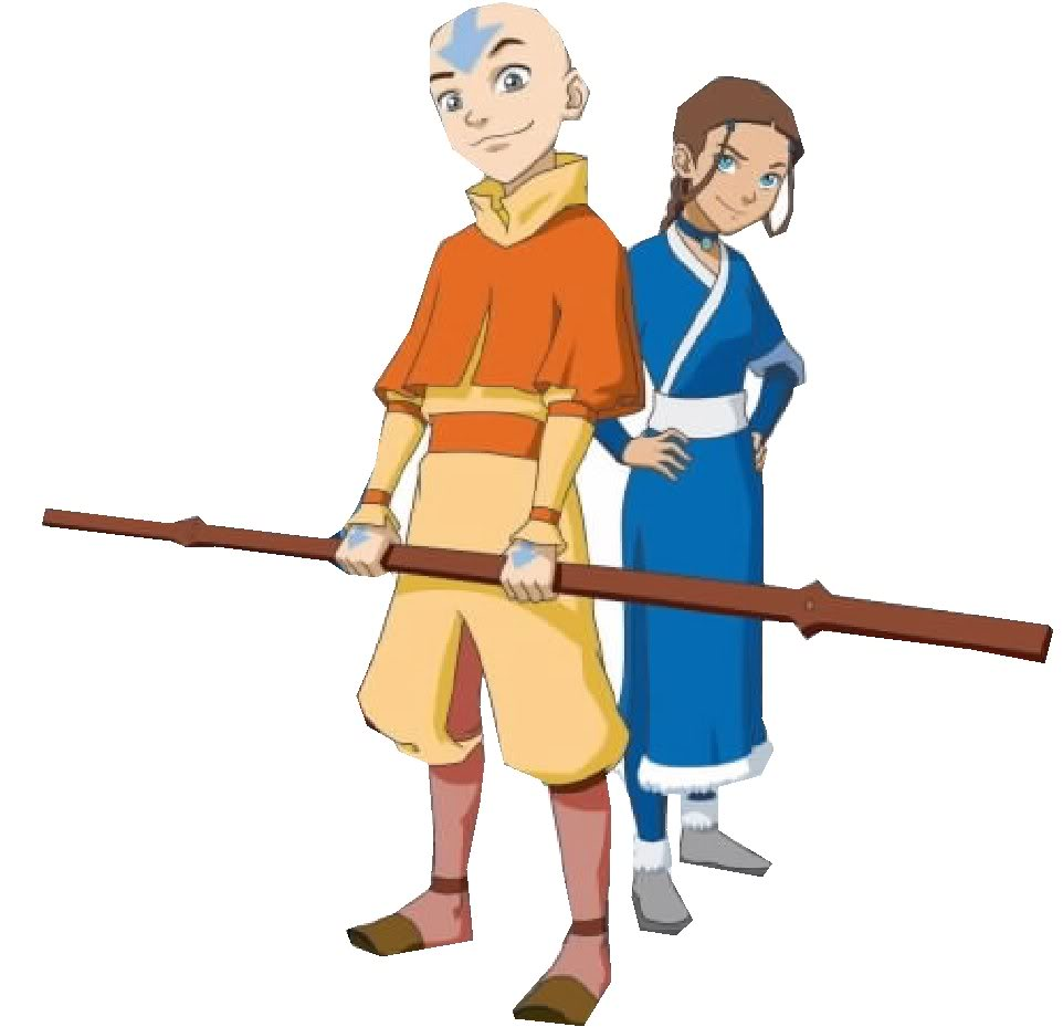 1 Avatar: On Earth As It Is In Heaven: Airbender Avatar Aang Vs. Na