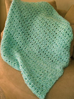 Knit Popcorn Stitch Baby Blanket : Jane of all Trades: First Baby Blanket