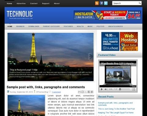 Template blogger keren