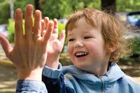 NAMC montessori preschool separation anxiety tips for parents teachers happy high five