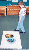 NAMC montessori prepared environment importance of work mat