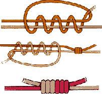 Связать два конца плетенки