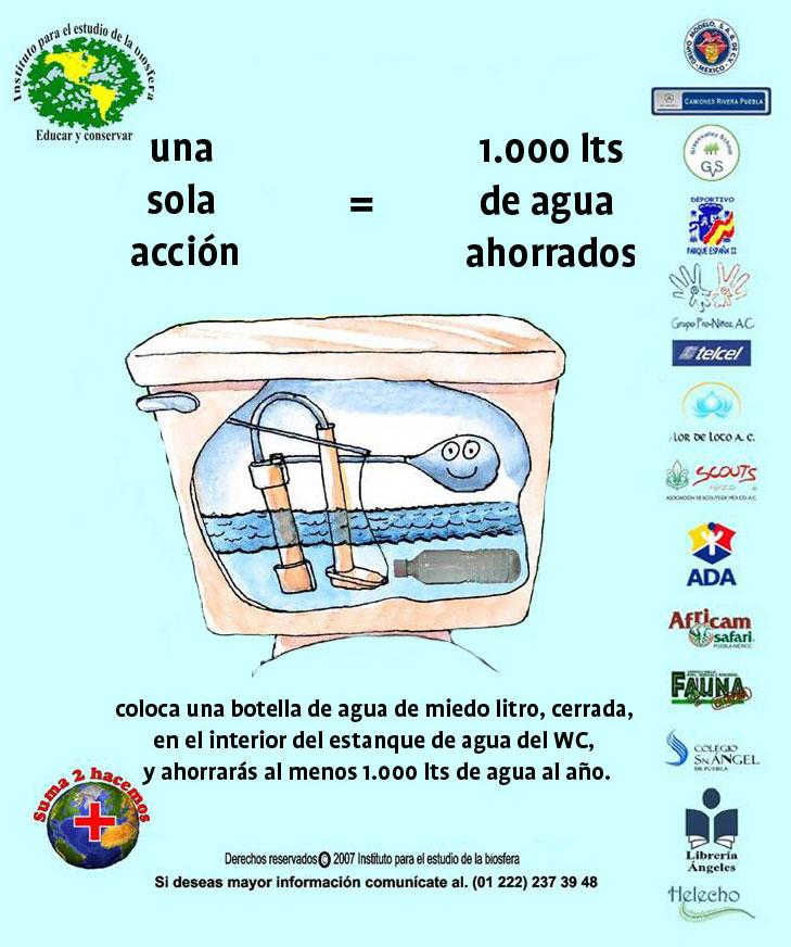 Nuestro mundo ahorro de agua for Sistemas de ahorro de agua