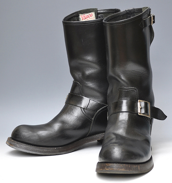 Vintage engineer boots the real mccoy 39 s buco models for New model boot