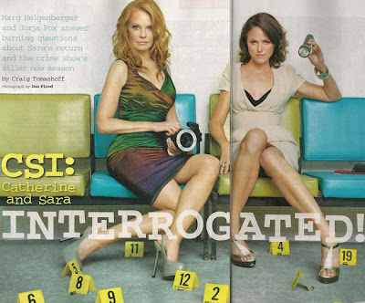 Which, in turn, leads me to the two founding females of CSI: Marg ...