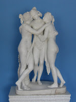 The Three Graces, by Antonio Canova - image by Uk-Kamelot@Wikimedia Commons - released under Creative Commons Attribution ShareAlike 3.0 licence.
