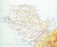 Anglesey, Ordnance Survey map 1946 - public domain
