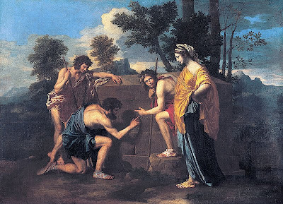Et in Arcadia Ego, saith the Great Leveller - Nicolas Poussin, 1637-8 - public domain, via Yorck Project and Wikimedia Commons