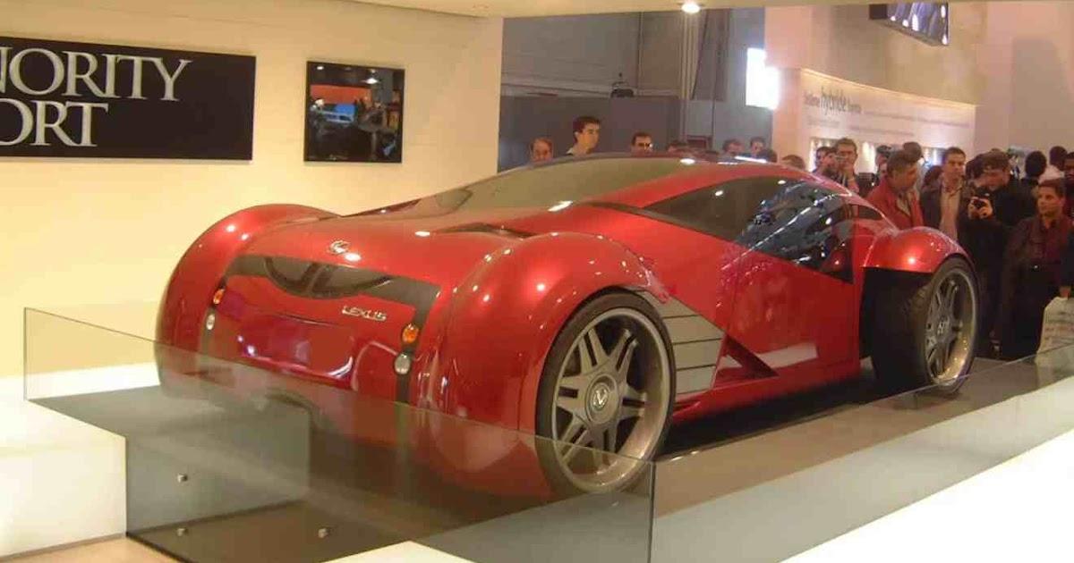 new car show 2054 lexus minority report sports car. Black Bedroom Furniture Sets. Home Design Ideas