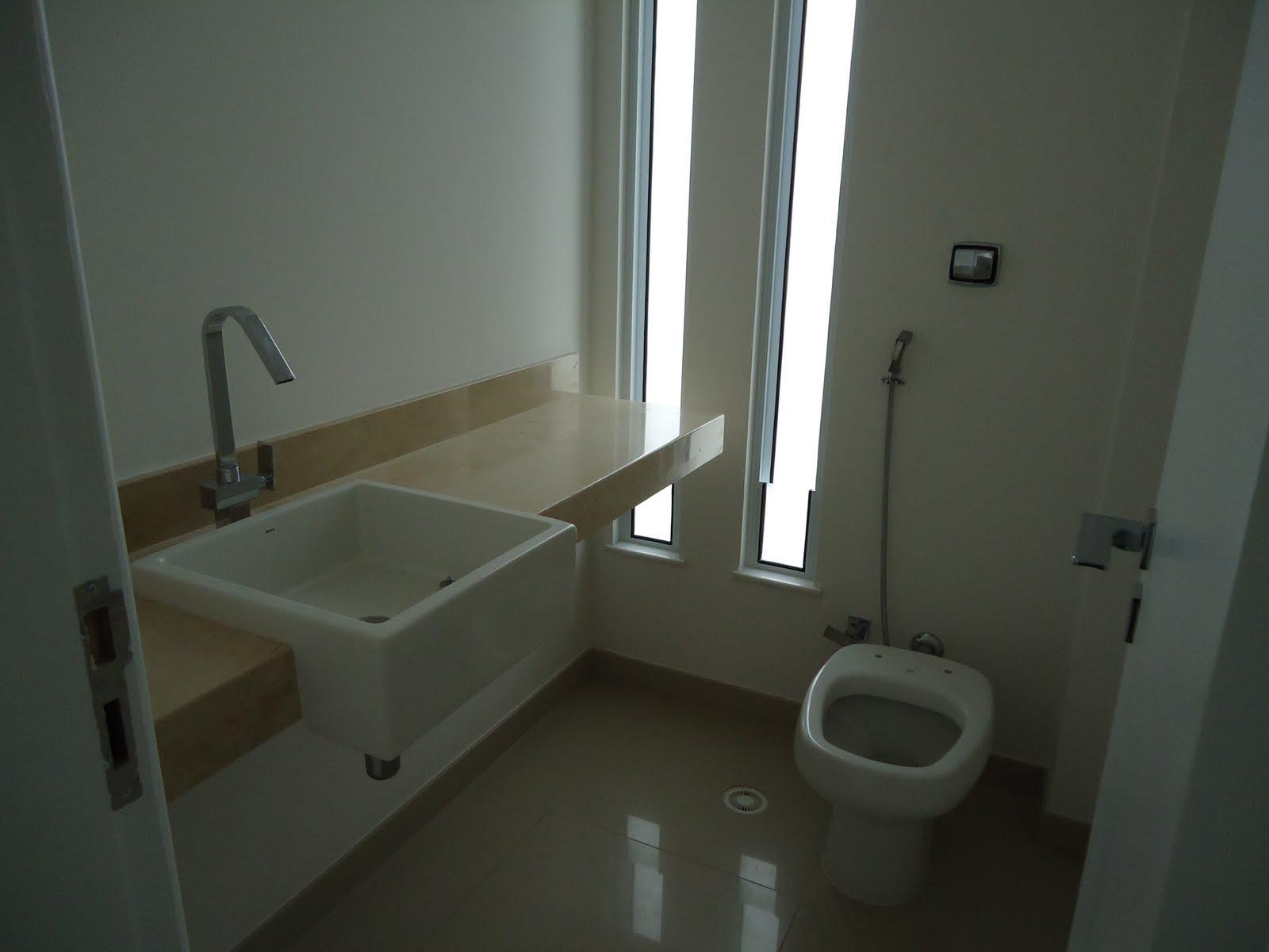 Casa a venda Alphaville Salvador -> Pia Banheiro Semi Encaixe