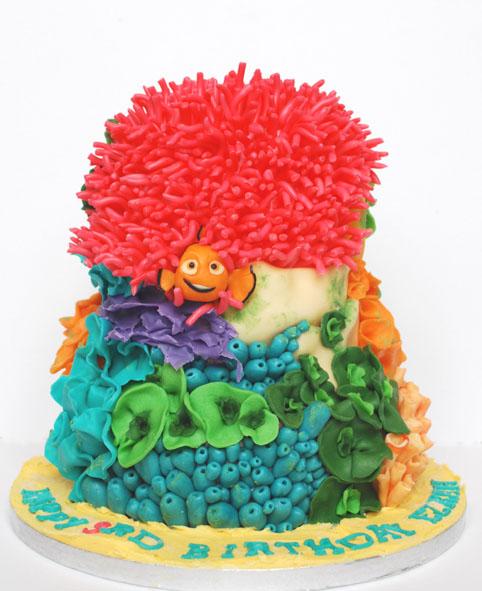 Nemo Cake: We Love To Cake: Finding Nemo Cake