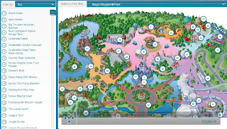 mapa de Disney World