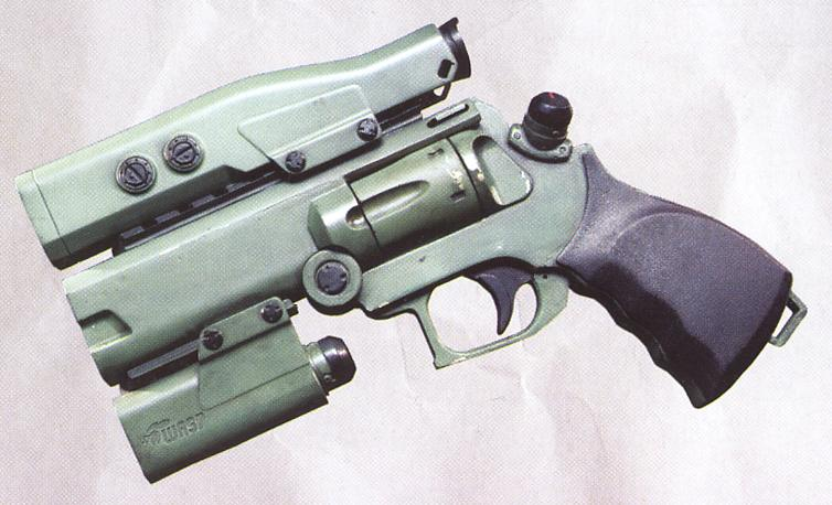 The WASP 9mm Revolver from Avatar . My father loves old-school ...