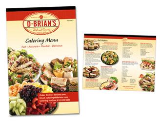 Food Brochures Deli Catering Brochure - Catering brochure templates