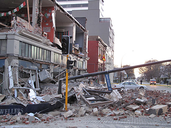 earthquake in new zealand christchurch. Christchurch, New Zealand