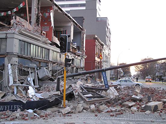 earthquake in new zealand christchurch. Christchurch, New Zealand