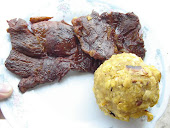 Tacacho con cecina