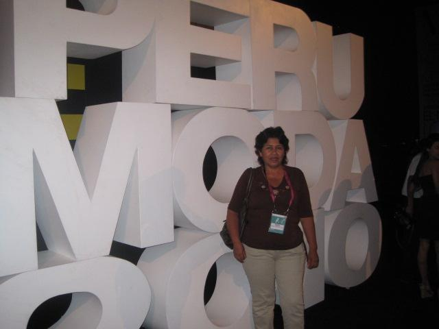 PARTICIPACION DEL  PERU MODA 2010