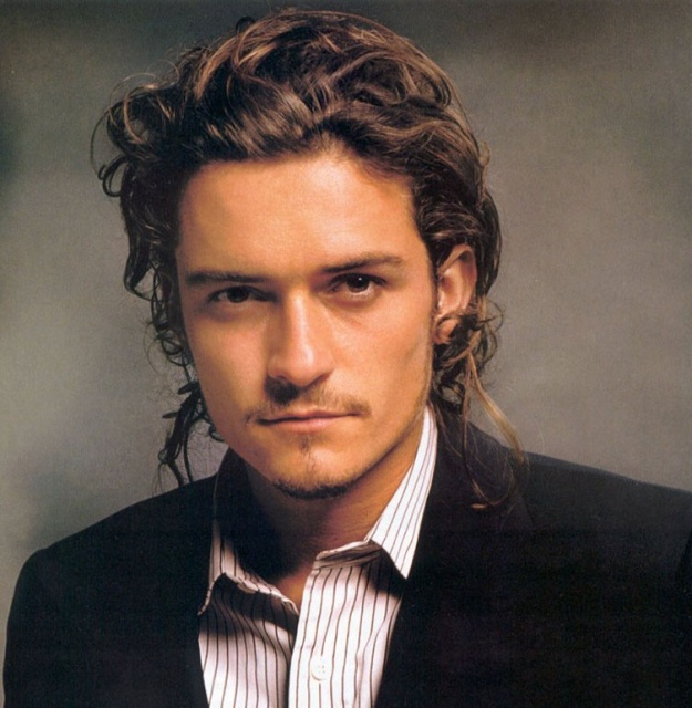 orlando bloom long hair. orlando bloom wallpapers