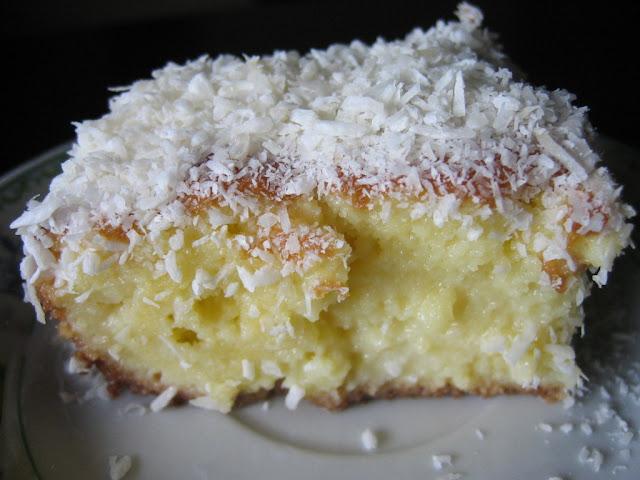 bolo de coco fácil