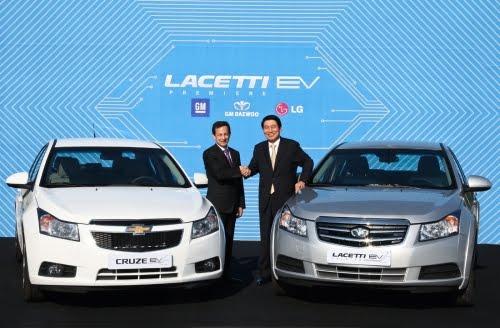Sufiy.: Lithium Drive: GM Daewoo joins electric vehicle race TNR.v