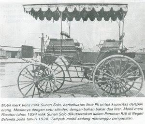 Siapa Orang Indonesia Pertama Yang Punya Mobil ? [ www.BlogApaAja.com ]