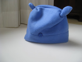 fleece toddler hat