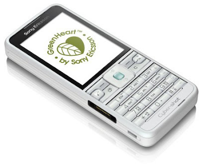Sony Ericsson GreenHeart Phones